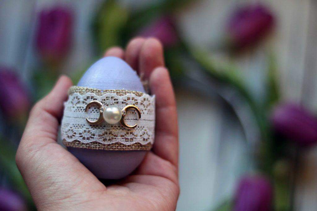 Triple moon spring equinox eggs.