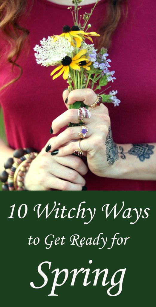 Can't wait to start using some of these witchy ideas to get ready for spring.