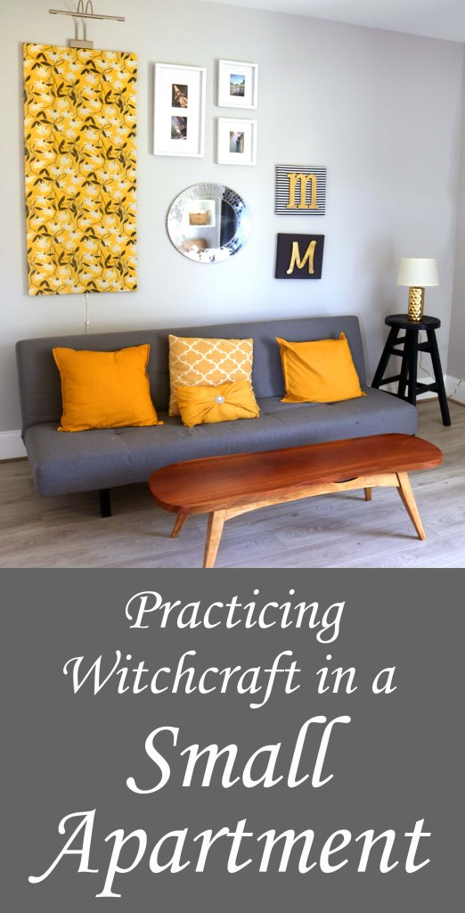 Some practical tips for practicing witchcraft in a small apartment.