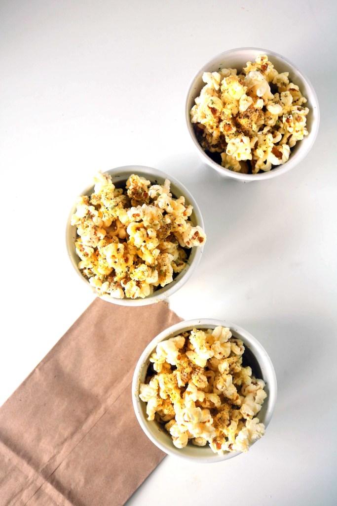 Lughnasadh herbal popcorn kitchen witch recipe.