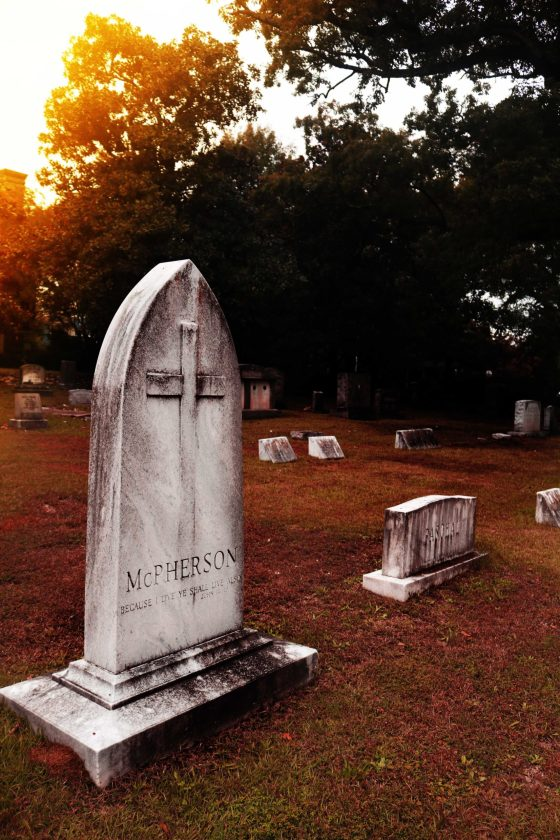 Should you go ghost hunting in a cemetery?