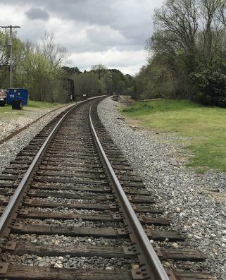 KCS Railroad Track Jefferson TX
