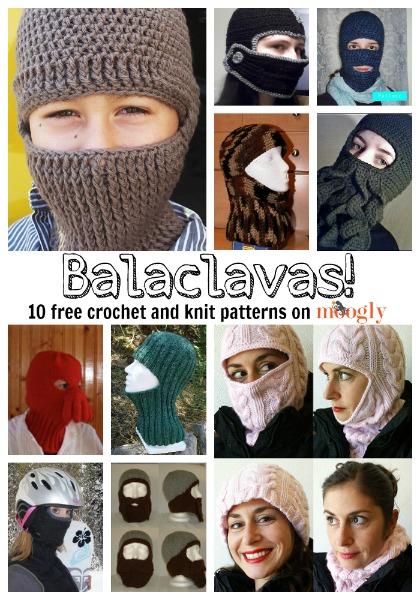Balaclava Pattern : balaclava, pattern, Brrrrr-ing, Balaclavas:, Crochet, Patterns!