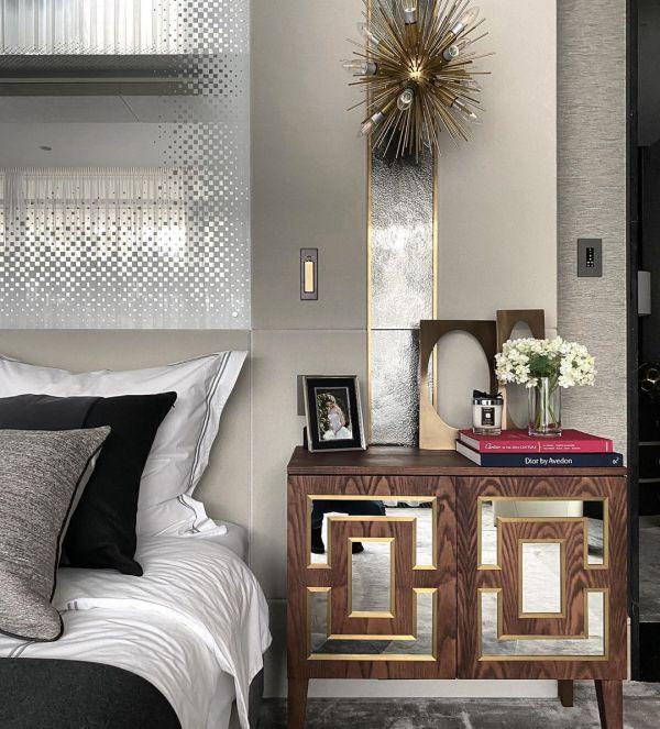 Embedded Bedside Wall Light