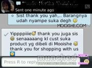 Happy customers of Mooishe.com. Be part of them, click: www.mooishe.com! ;)