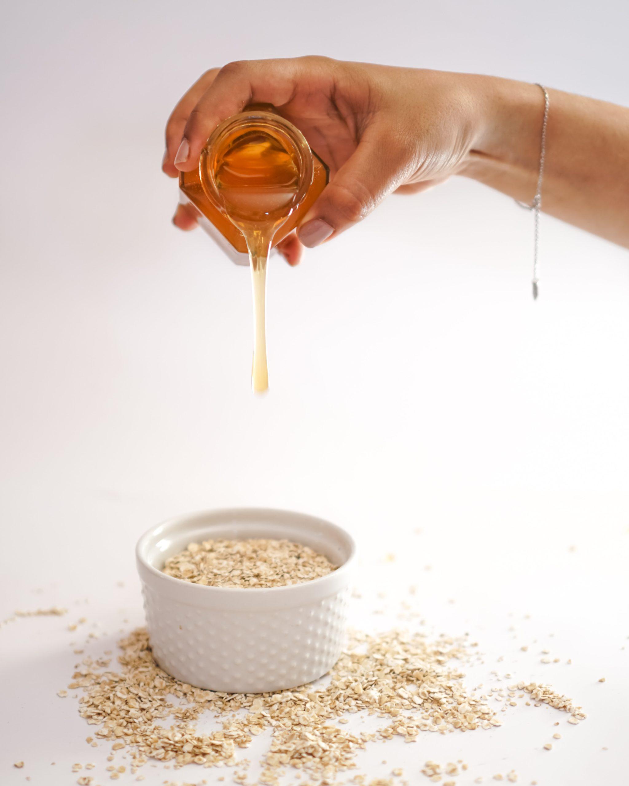Mascarilla de avena y miel