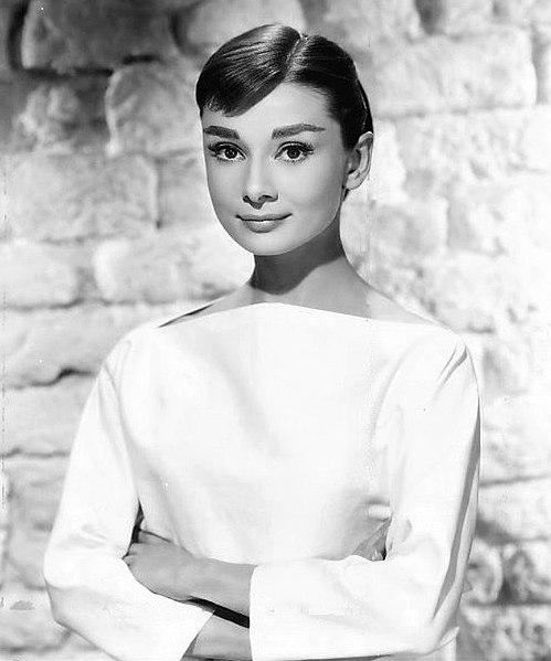 Fotografía de Audrey Hepburn, 1956