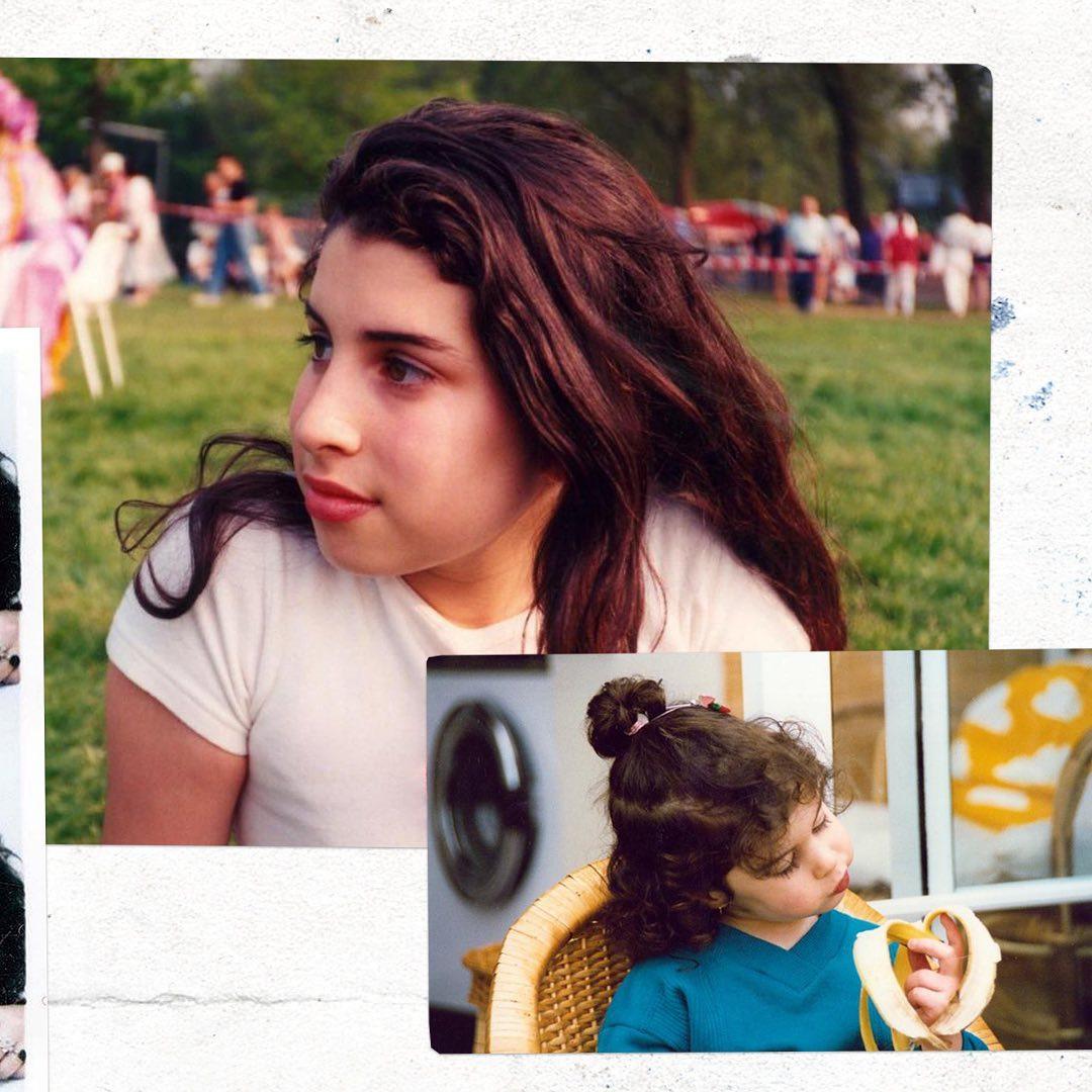 Amy en su infancia y adolescencia
