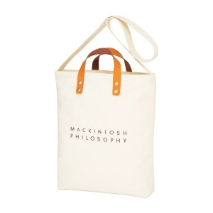 MACKINTOSH PHILOSOPHY LEATHER HANDLE TOTE BAG