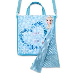 Disney アナと雪の女王 エルサのドレスバッグBOOKの付録