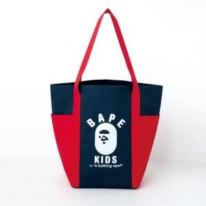 BAPE KIDS2019年春夏ムック本の付録の大容量バイカラートートバッグ