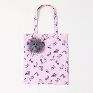 2019年5月発売スヌーピーのムック本付録のファーロンのふわふわネコポーチとバッグ