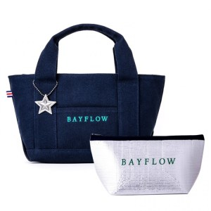 BAYFLOW LOGO TOTE BAG BOOK中部グリーン