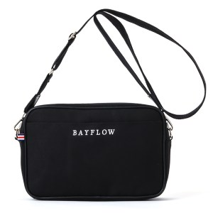 限定販売ムック本BAYFLOW LOGO SHOULDER BAG BOOK BLACK付録
