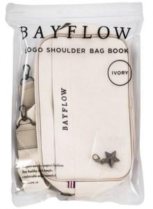 限定販売ムック本BAYFLOW LOGO SHOULDER BAG BOOK アイボリー