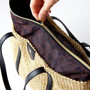 2020年6月発売ムック本kippis zip-up basket bag BOOK付録のカゴバッグ