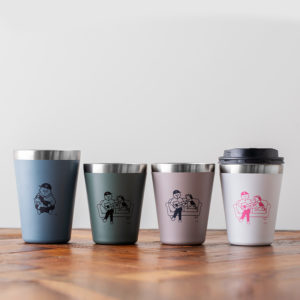 2020年12月発売コンビニ限定ムック本CUP COFFEE TUMBLER BOOK produced by UNITED ARROWS green label relaxing の付録全4種類