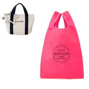 2021年1月発売コンビニ限定ムック本BAYFLOW ECO BAG SET BOOK LIMITED COLORの付録