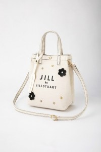 2021年4月発売ジルバイジルスチュアートのムック本付録の白いバッグ