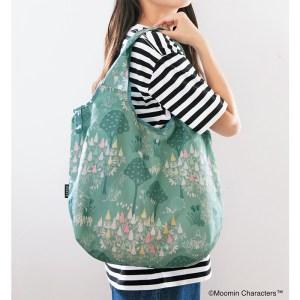ムーミン2021年公式ファンブックの付録のエコバッグ