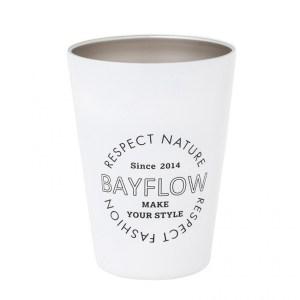 2021年発売ベイフローのカップコーヒータンブラー白色