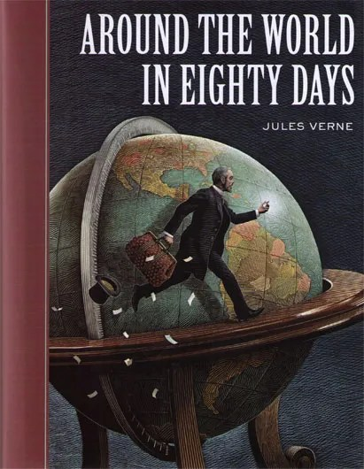Jules Verne Around The World In Eighty Days The Mookse