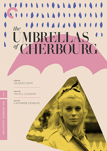 Criterion The Umbrellas of Cherbourg Cover