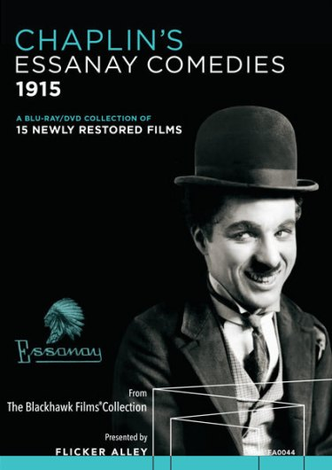 Chaplin's Essanay Comedies Cover