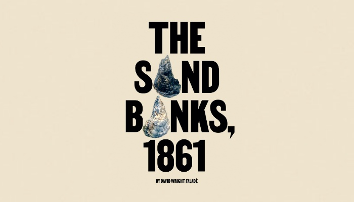 """David Wright Faladé: """"The Sand Banks, 1861""""   The Mookse and the Gripes"""