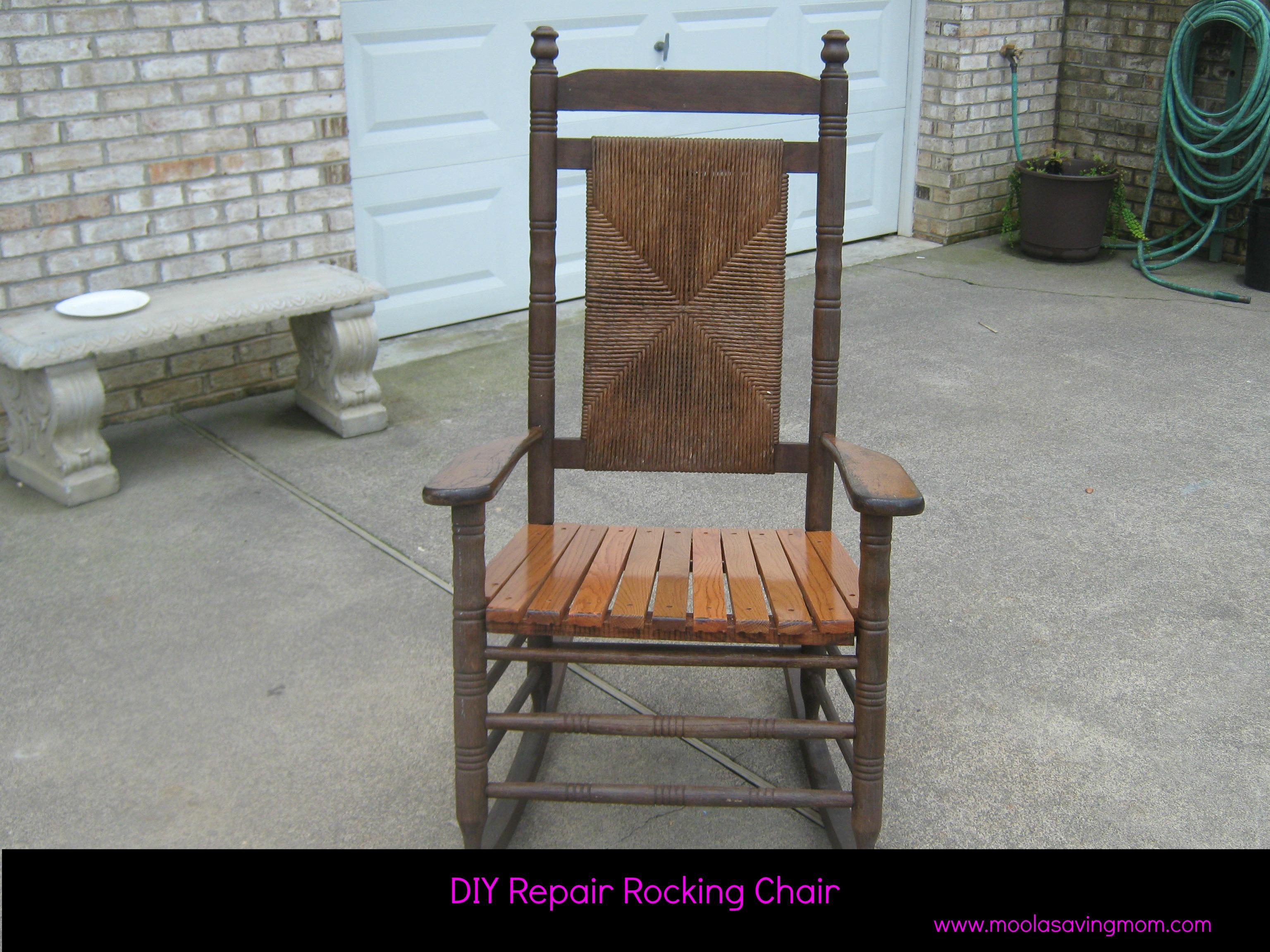 glider chair repair parts step 2 make it mondays rocking moola saving mom