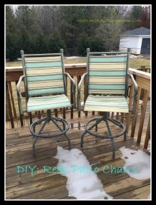 redo sling patio chairs vintage metal high chair how to recover marvelous interior images of homes make it mondays moola saving mom rh moolasavingmom com
