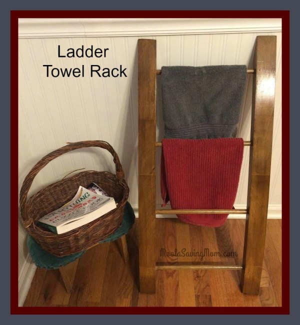 Make Mondays Ladder Towel Rack - Moola Saving Mom