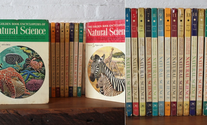 The Golden Book Encyclopedia of Natural Science, from 1962
