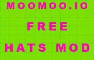 MooMoo.io Free Hats Mod