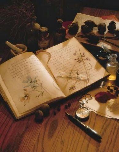 гримуар дневник ведьмы