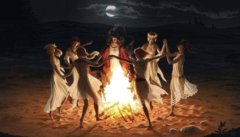 Ведьмовство для начинающих. Как создать круг для ритуалов