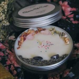 ароматическая свеча королева кубков