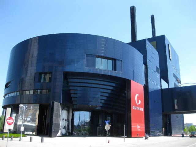 Exterior view of the Guthrie Museum.