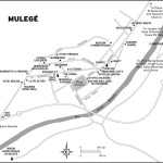 Map of Mulege, Mexico