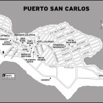 Map of Puerto San Carlos, Mexico