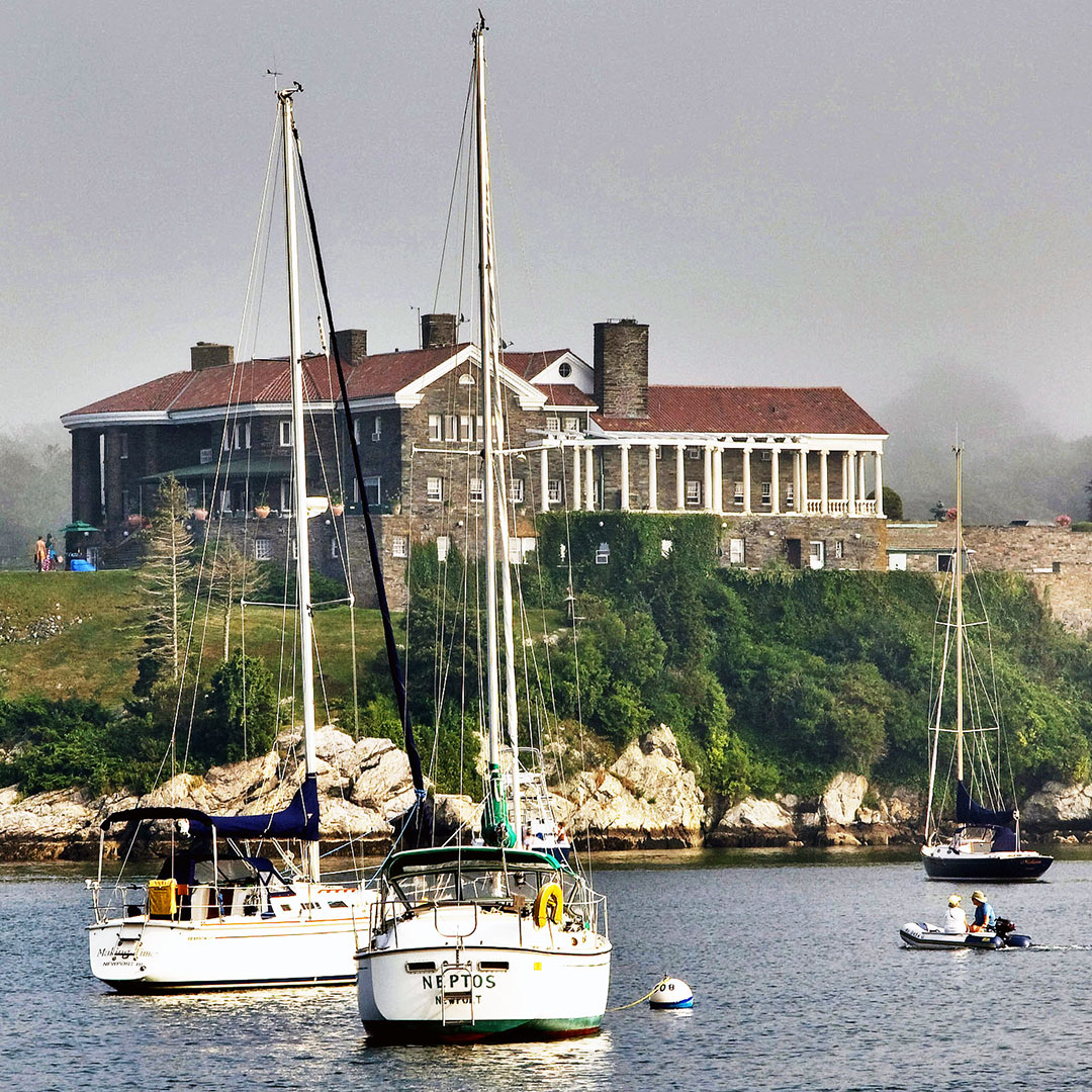 Newport is a well-preserved colonial seaport community.