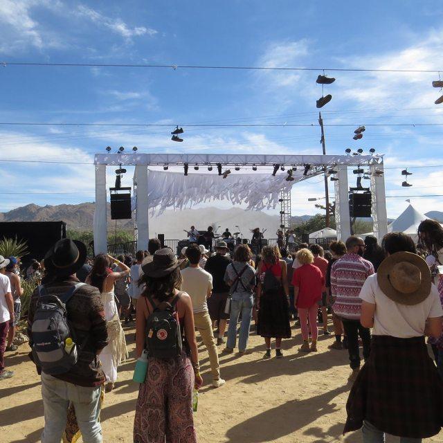The Block Stage at Desert Daze. Photo © Jenna Blough.