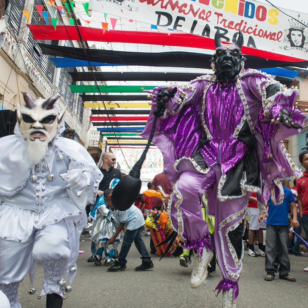 Carnaval de La Boa in La Vega. Photo © Lebawit Lily Girma.