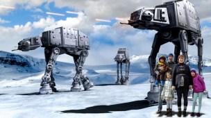 Plutselig i en Star Wars-scene