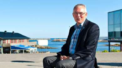 Ordfører Jonni Helge Solsvik FOTO: TONY GULLA SIVERTSEN