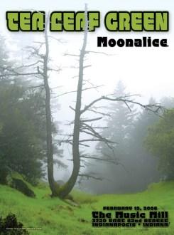 2/15/08 Moonalice poster by Alexandra Fischer