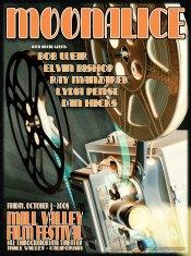 10/3/08 Moonalice poster by Alexandra Fischer