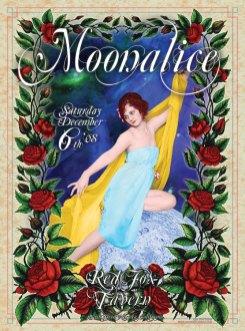 12/06/08 Moonalice poster by Alexandra Fischer