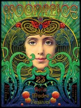 5/23/09 Moonalice poster by Alexandra Fischer