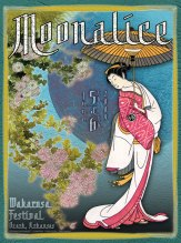 6/5-6/09 Moonalice poster by Alexandra Fischer